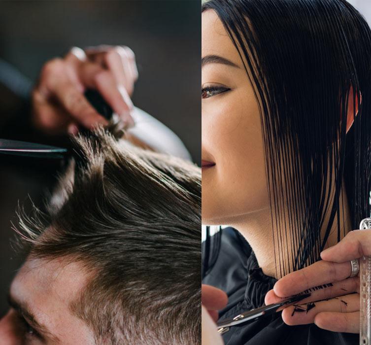 muško i žensko šišanje